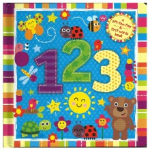123 - A Lift The Flap & First Words Book