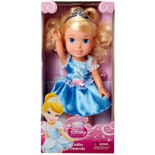 Jakks Pacific - Disney Princess - Toddler Doll - Cinderella Possable Body Incl. Tiara, 13 by