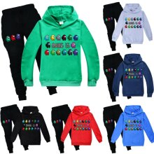 Kids Boys Girl Among Us Hooded Hoodie Sweashirt+Pants 2pcs Tracksuit Outfits Set