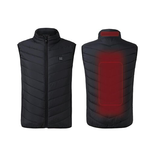 Electric USB Heated Vest Jacket Coat Winter Body Warmer Vest Pad Men Women