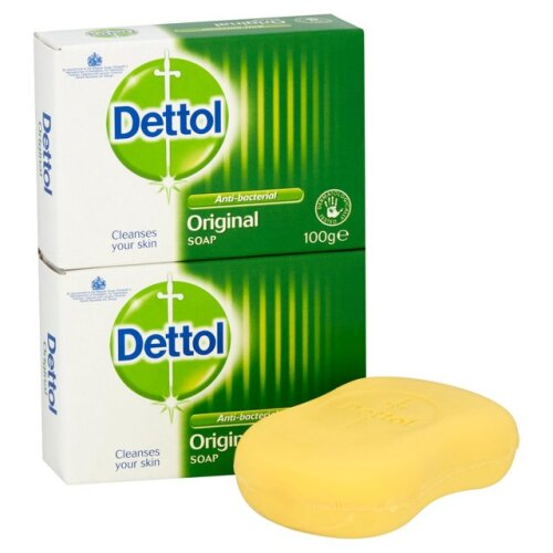 1 box of 12pcs DETTOL Antibacteria Gentle Hand Bar Body Bath Soap