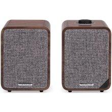 Ruark Audio MR1 MK2 Active Bluetooth Speakers Rich Walnut