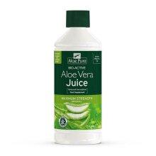 6 X 1 bottle of Aloe Pura Bio-Active Aloe Vera Juice Max Maximum strength 1L 1 Litre