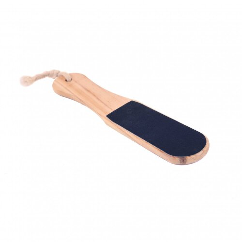 Oypla Double Sided Wooden Hard Skin Remover Pedicure Foot File