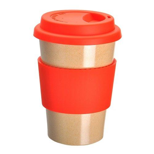 OLPRO Bamboo Travel Mug - Red