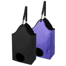 Slow Feed Hay Bag Haylage Storage Feeder Pouch Tote Outdoor Horse Riding Performance Training Gear