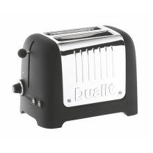 Dualit 2 Slice Lite Toaster in Black 26205