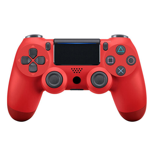 Unofficial Wireless Controller for PS4, Game Controller for Playstation 4/Pro/Slim Console  - Red