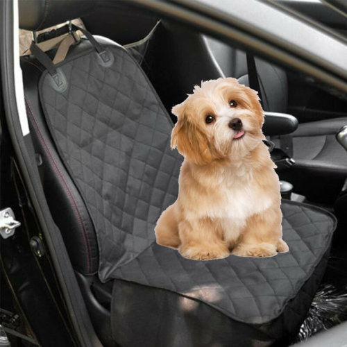 Water Resistant Dog Pet Front Seat Car Seater Cover Protector Mat