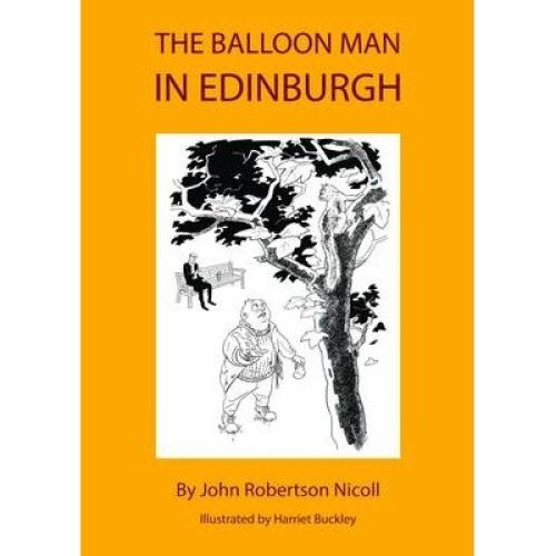 The Balloon Man in Edinburgh