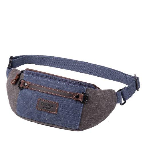 TRP0468 Troop London Classic Canvas Messenger Bag   Buy Bags Online   Canvas Messenger Bags   leather canvas backpack