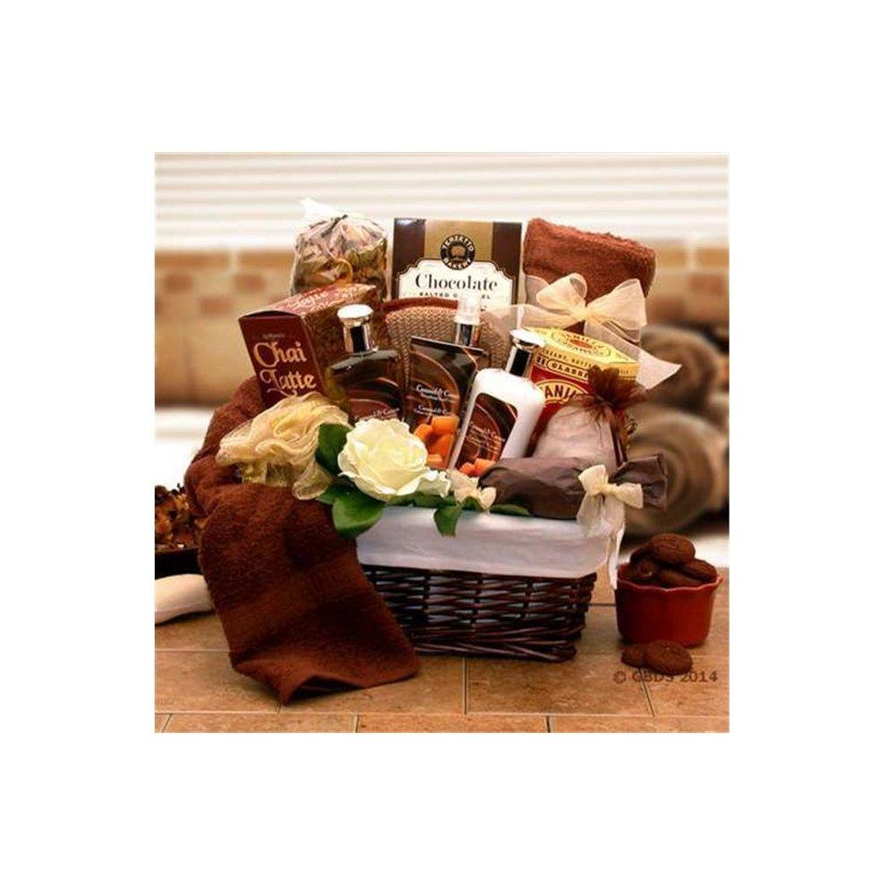 Gift Basket Drop Shipping 8413602 Caramel Indulgence Spa Relaxation Gift Hamper