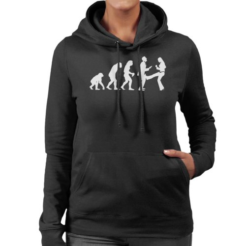 Anti Men Evolution Women's Hooded Sweatshirt
