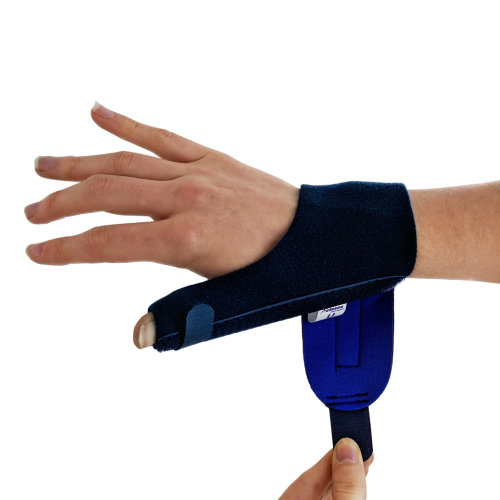 Actesso Neoprene Thumb Support Splint - Relieves Thumb Pain & Injury, Tendonitis, De Quervain's, and Sprains