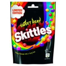 Skittles Sweet Heat Limited Edition 196 g Family Size
