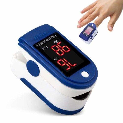Fingertip Pulse Oximeter Heart Rate Monitor Blood Oxygen Saturation SpO2 Sensor LED Display