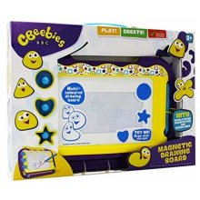 CBeebies Childrens Multi-Coloured Magnetic Drawing Board