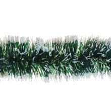 3m 6ply Garland Green Snow Tipped Tinsel Christmas Tree Home Decoration Festive