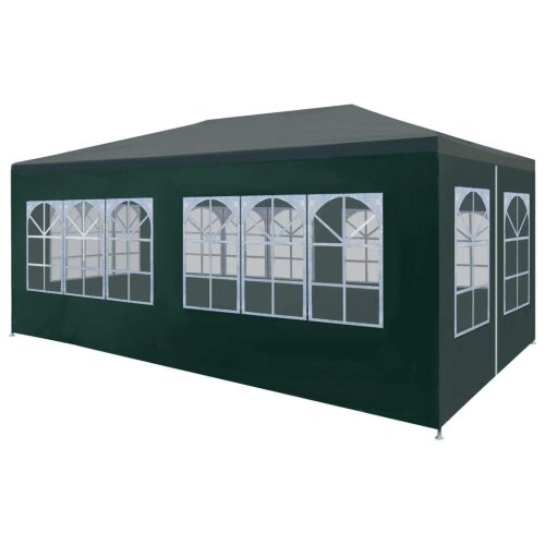 Party Tent 3x6 m Green