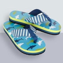 Hatley Boys' Sandals Flip Flops, Blue  7 (23 EU)