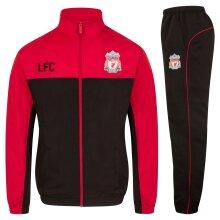 Liverpool FC Boys Tracksuit Jacket & Pants Set Kids OFFICIAL Football Gift