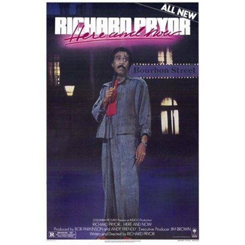 Richard Pryor Here & Now Movie Poster - 11 x 17 in.