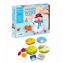 Chalk & Chuckles Season Wise Educational Game
