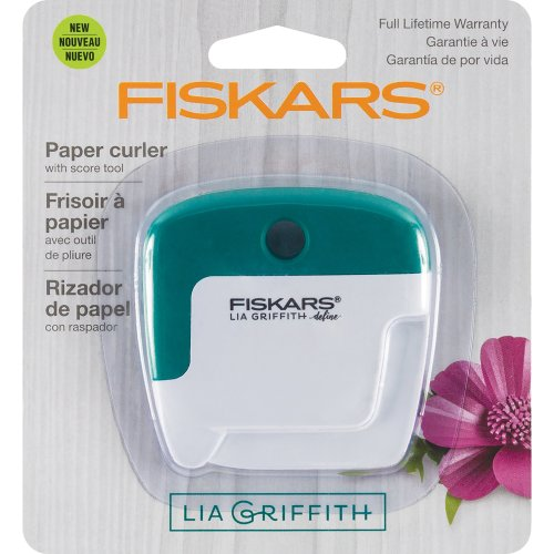 Fiskars Lia Griffith Paper Curler-White/Teal