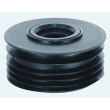 """Mcalpine Dc2-Bl 4""""/110Mm Drain Connector with Sealing Ring to Fit Plastic Waste Pipe, White"""