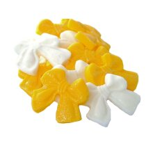 12 Edible Mixed Glittered Bows Cupcake and Cake Decorations