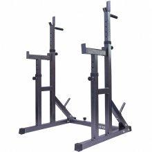 Gym Master Adjustable Squat Rack & Dip Stand Weightlifting Rack