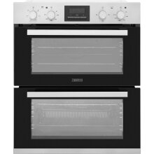 Zanussi ZOF35661XK Built Under Double Oven - Stainless Steel