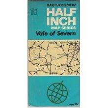 Vale Of Severn : one mile to half inch , Bartholomew - Used