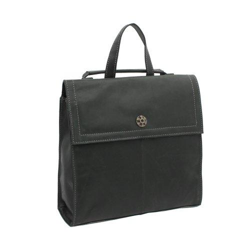 Mala Leather Tudor Collection Backpack 7140_88 Black
