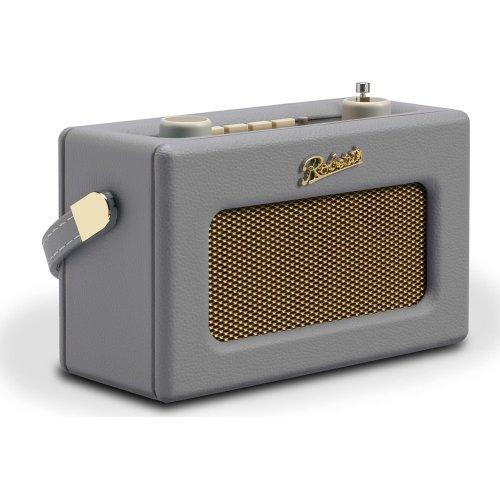 ROBERTS Revival Uno Retro Portable Clock Radio - Dove Grey, Grey
