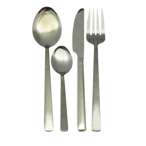 Stainless Steel Argon Tableware Dessert Spoons Set of 12