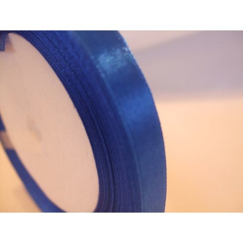 Satin Ribbon Roll - 10mm Wide - 25 Yards (22 Metres) - Royal Blue