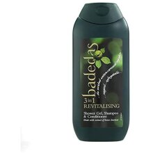 Badedas 3-in 1 Revitalising Shower Gel, Shampoo and Conditioner, 200 ml