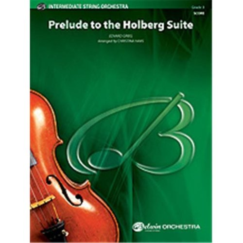 Alfred 00-33666 PRELUDE TO HOLBERG SUITE-BIS
