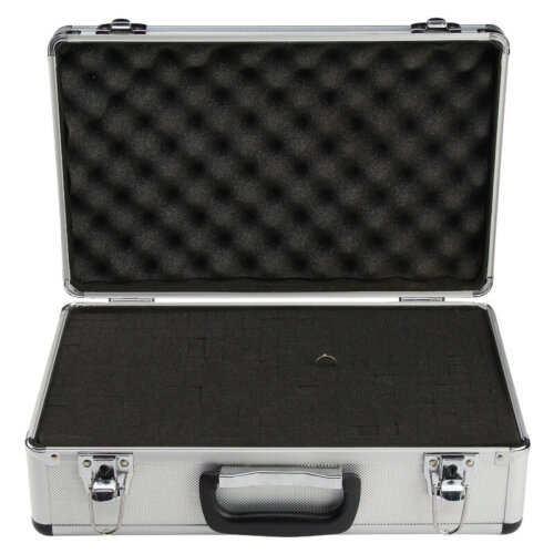 Large Hard Aluminium Flight Case Foam Camera Carry Storage Tool BOX