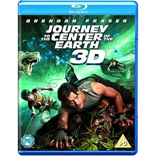Journey To The Center of The Earth 3D+2D Blu-Ray [2012]