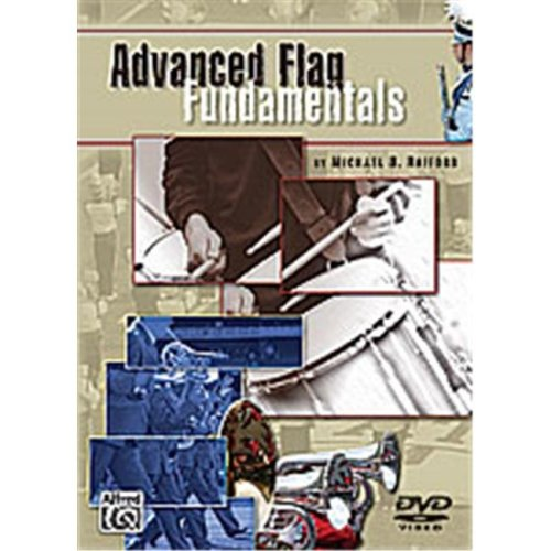 Alfred 00-27607 ADVANCED FLAG FUNDAMENTALS DVD 5