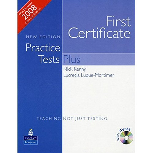 Practice Tests Plus FCE New Edition Students Book without Key/CD-Rom Pack