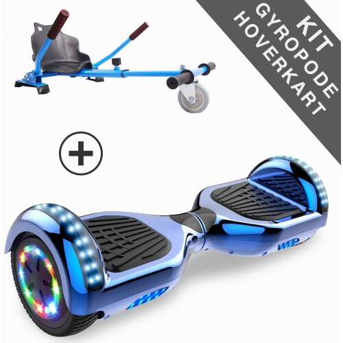 Right Choice Classic Hoverboard UL certified with Adjustable Hoverkart