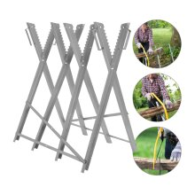 Sawhorse Foldable Garden Sawmill Cutting Timber Placement Timber