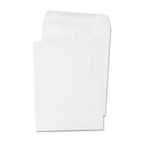 Self-Seal Catalog Envelope, 6 x 9, White, 100-Box
