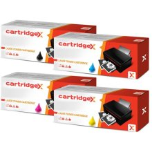 Compatible Set Of 4 High Capacity Toner Cartridges For Dell C1760nw C1765nfw C1765nfw