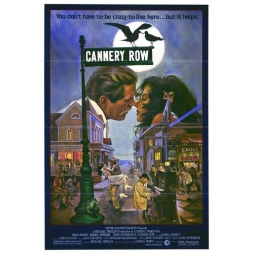 Cannery Row Movie Poster Print, 27 x 40