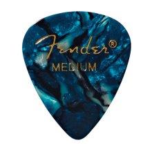 Fender 351 Shape Premium Picks, 12 Pack, Ocean Turquoise, Medium