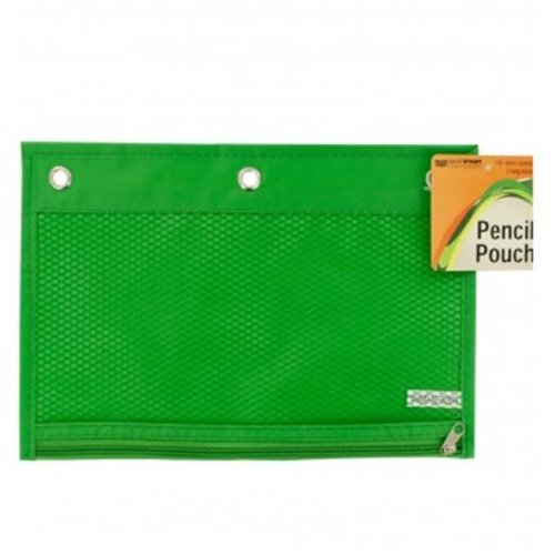 Bulk Buys OR415-96 Zippered Pencil Pouch for 3-Ring Binders - 96 Piece